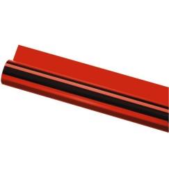 GELATINA FOGLIO colore rosso 120x50 cm