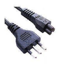 CAVO alimentazione a trifoglio per computer portatile IEC 320(C5)