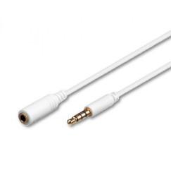 Cavo prolunga audio 1mt iPad iPhone iPod jack 3,5 4 poli
