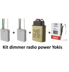 rele' dimmer kit con 2 telecomandi da incassare