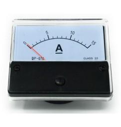 AMPEROMETRO 0-15 Ampere DC