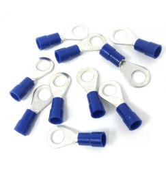 CAPOCORDA OCCHIELLO BLU FORO 6 mm conf. 10 pezzi