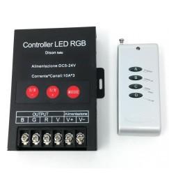 radiocomando RGB PER LED STRIP 150 W AMPERE 5-24 VOLT