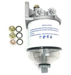 filtro decantatore primario a cartuccia completo (TIPO CAV296)