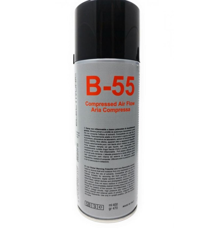 SPRAY B-55 ARIA COMPRESSA LOW GWP 400ml