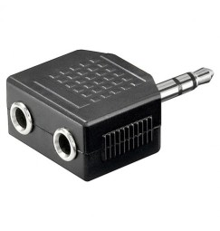 ADATTATORE JACK 3,5 Stereo-2 PRESE JACK 3,5 Stereo
