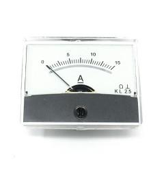 AMPEROMETRO DA PANNELLO 0-15 Ampere DC