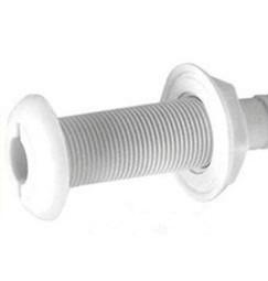 PASSASCAFO NAUTICO BIANCO foro 25mm tubo da 19mm