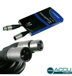CAVO XLR 0,5 metri CAVETTO PATCH XLR
