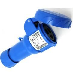 PRESA volante blu stagna CEI 220V 16 Ampere