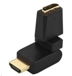 ADATTATORE HDMI™-A, ad angolo libero 2x180°