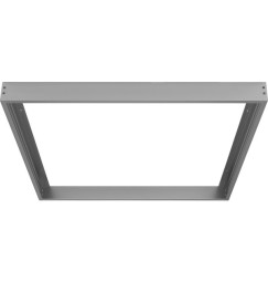telaio sospensione pannelli led 62x62 iron look
