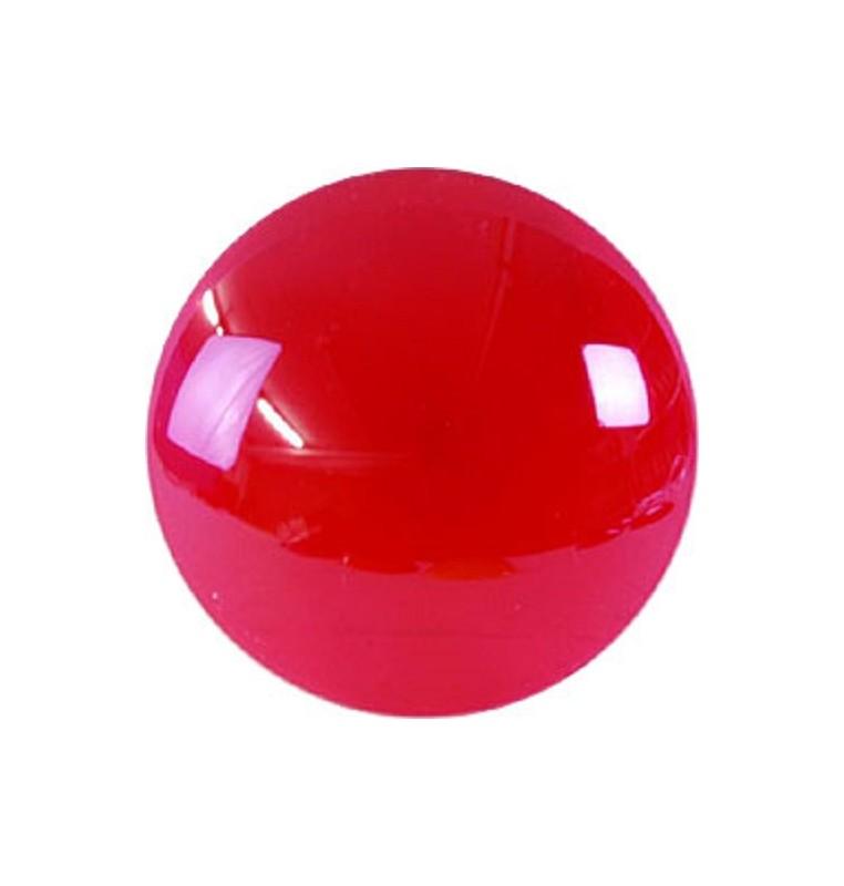 LENTE COLORATA PAR 36 diametro 11 cm plastica ROSSO