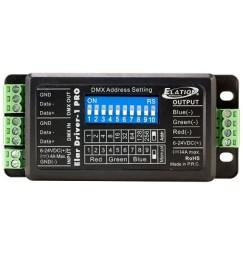 LED RGB DMX POWER UNIT