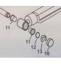 serie boccole seger e tappi per pistoni trim alpha GEN.2