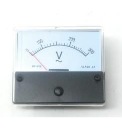 VOLTMETRO da pannello 0-300 VOLT AC