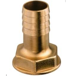 PORTAGOMMA IN OTTONE 1 pollice FEMMINA PER TUBO 30 mm