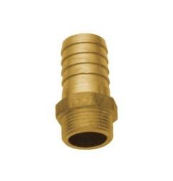 PORTAGOMMA IN OTTONE 1 pollice MASCHIO PER TUBO 30 mm