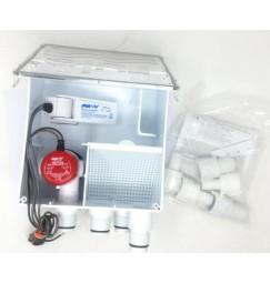 RULE Pompa doccia con vaschetta di recupero acque grigie 12V