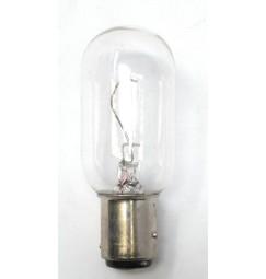 LAMPADINA 24 VOLT 10 WATT BAY15D BAIONETTA BIANCA LUNGA