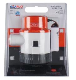 Pompa SENTINA SEAFLO 24 VOLT 8 ampere tubo 38 mm 13000 litri ora 3500Gph