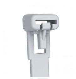 FASCETTE RIAPRIBILI 150mm X 7,6mm NYLON BIANCO