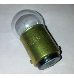 LAMPADINA 12V 5W (0,42A) BA15D BAIONETTA (5pezzi)