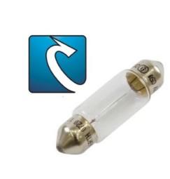 LAMPADINA 12V 5W (0,42A) SILURO (5pezzi)