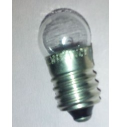 LAMPADINA 4,8V 0,3A E10 (5pezzi)