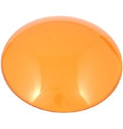 LENTE COLORATA PAR 36 diametro 11 cm plastica AMBRA-ARANCIONE
