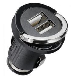 ALIMENTATORE USB DOPPIO PER ACCENDISIGARI